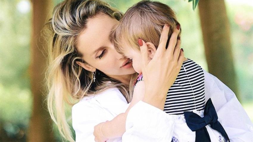 Лобода впервые показала фото дочери от солиста Rammstein
