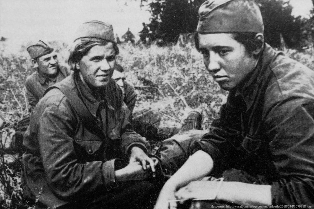 Как использовали советских женщин в третьем рейхе
