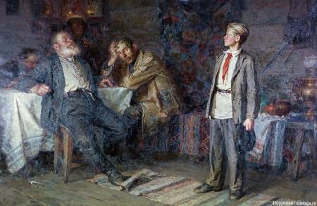 Чего хотел добиться пионер Павлик Морозов?