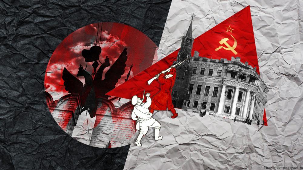 Как красный цвет стал символом большевистской революции?