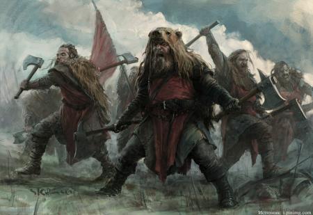 Что на самом деле употребляли викинги перед боем?