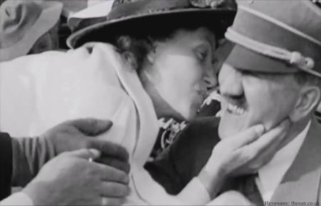 Американка, которая поцеловала Гитлера против воли диктатора