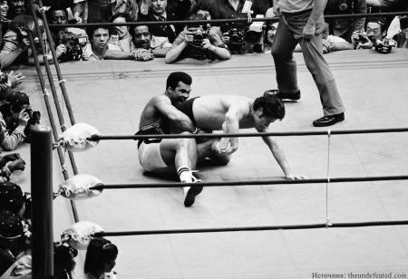 Единственный бой Мохаммеда Али в MMA