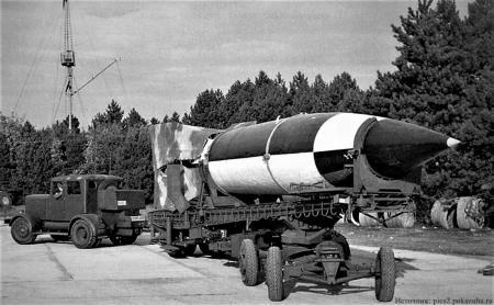 Любимая ракета Третьего рейха