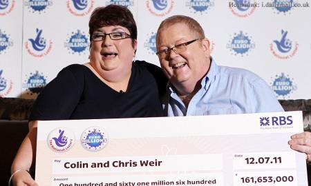 38 лет коту под хвост: пара развелась из-за миллиардного выигрыша