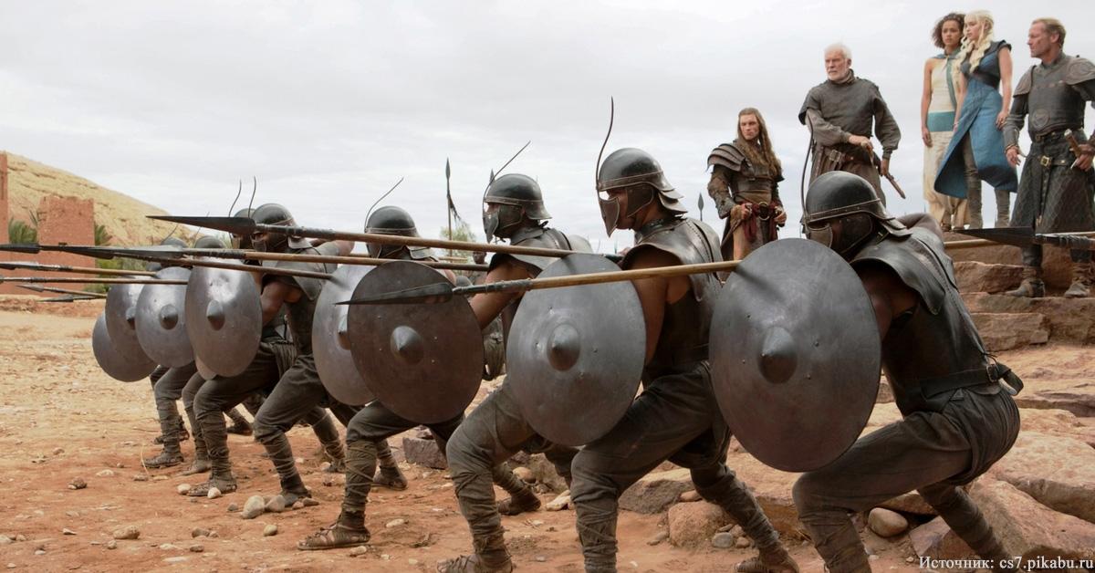 Исторический прообраз Армии Безупречных из «Игры престолов»