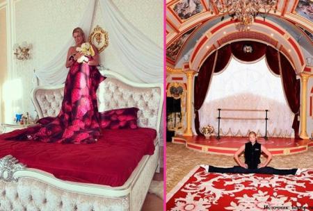 Безвкусные дома богатых звёзд
