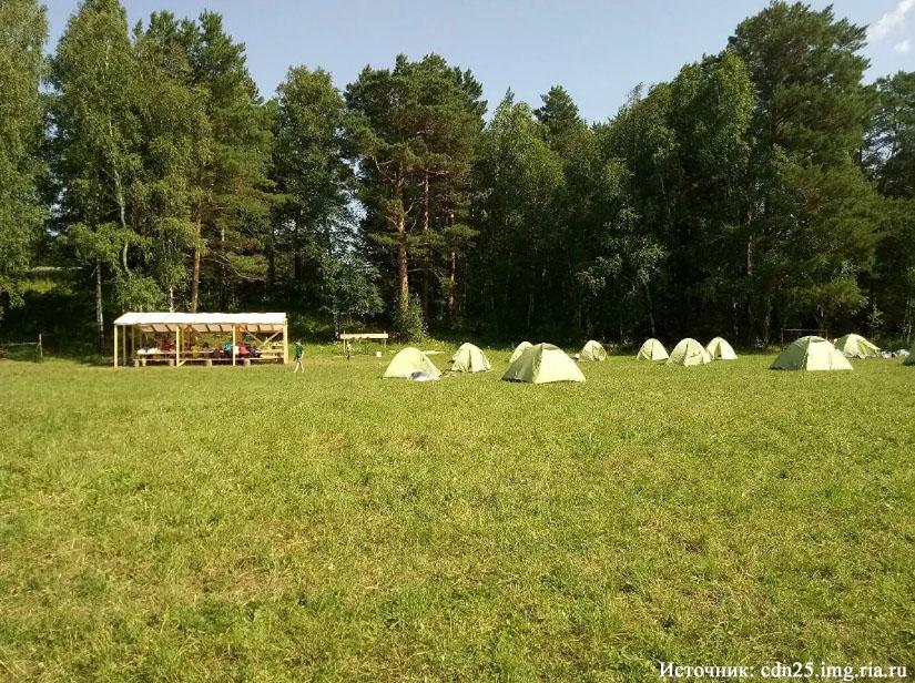Под Томском украли лагерь для детей-сирот
