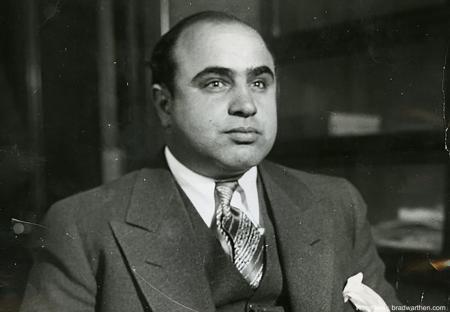 Аль Капоне в тюрьме превратился в уборщика
