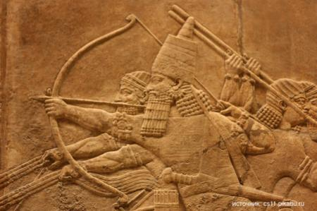 Какой была первая война в истории?