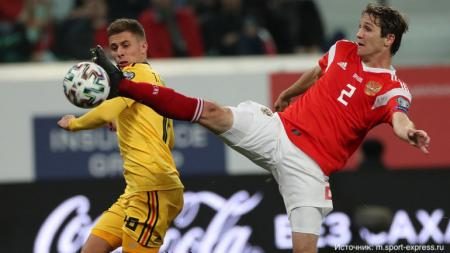 Российским футболистам придется снова сыграть с Бельгией