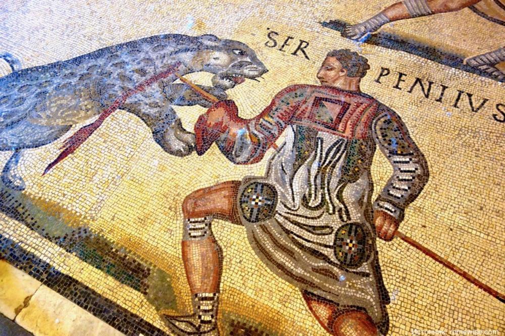 Самый известных зверь-гладиатор Древнего Рима