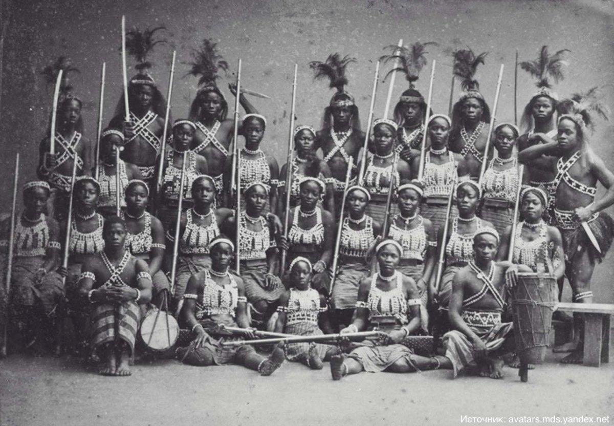 Армия африканских амазонок, которая громила французские войска
