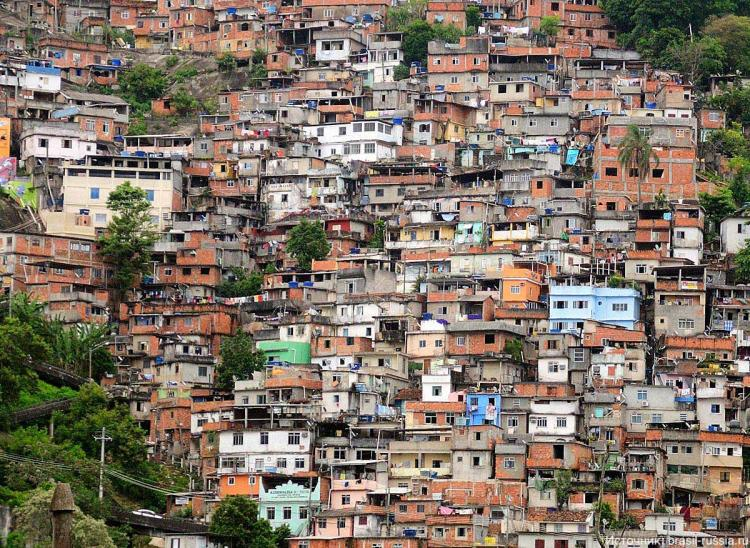 Фавелы, Бразилия