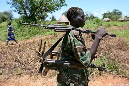 Угандийская «Господня армия» фанатиков-маньяков