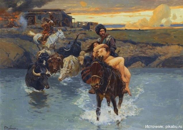 Как славянские рабыни появились в средневековой Европе?
