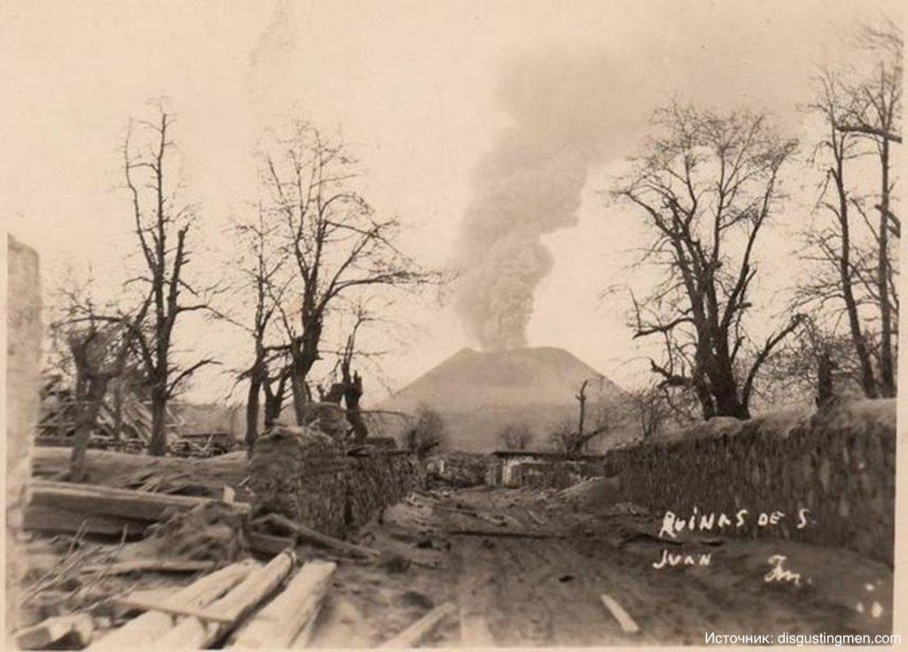 Вулкан, который вырос на кукурузном поле