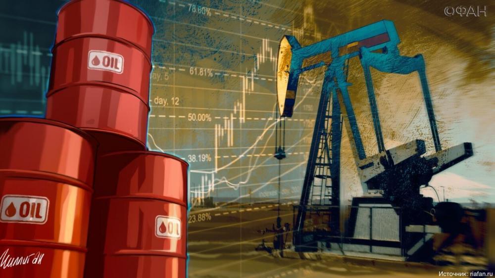 Цены на нефть опустились ниже психологической отметки