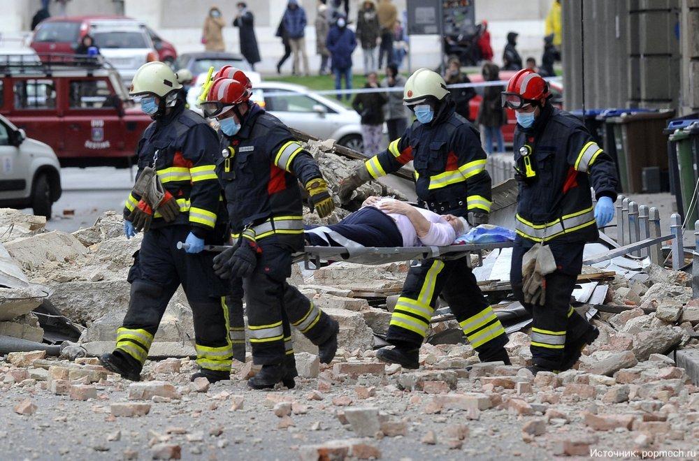 Столица Хорватии пережила сильнейшее землетрясение