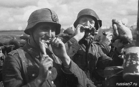 Каких русских продуктов боялись гитлеровские солдаты?