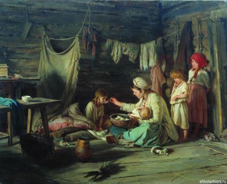 Чем питались в русских деревнях два века назад?