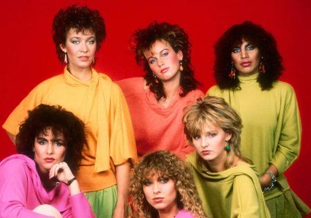 Советская мода 80-х годов, вот это причёски