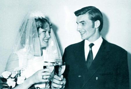 Свадебные фото советских знаменитостей.